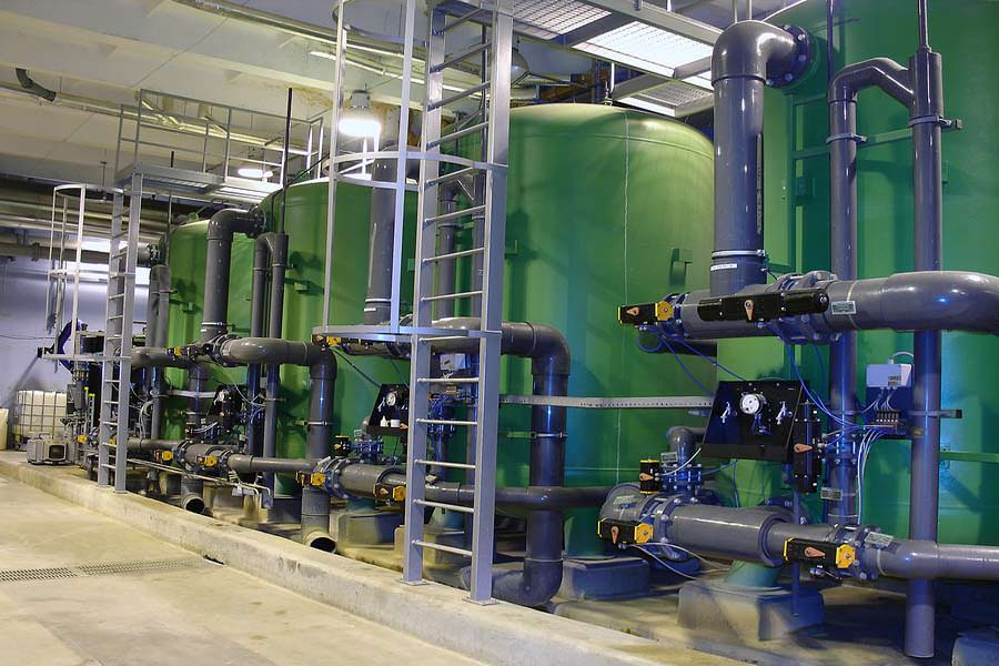 Water Sewage Wastewater Treatment Plants Facilities