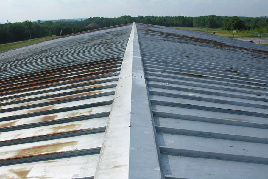 Roof Painting Painters Of Steel Metal Roofs On