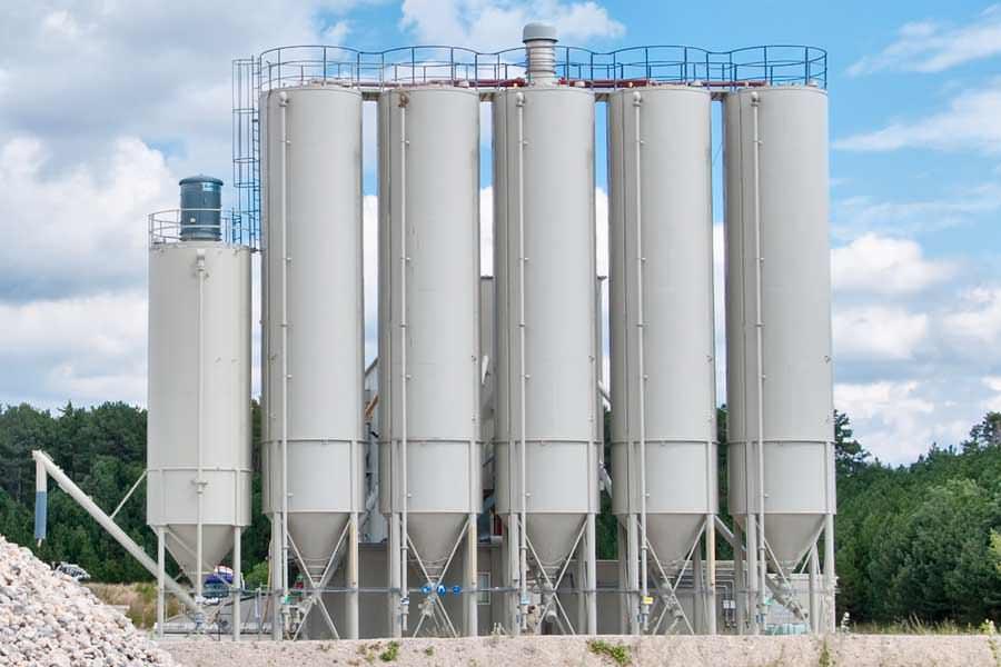 Silo Amp Bulk Storage Tank Painting Painters Tank Silo