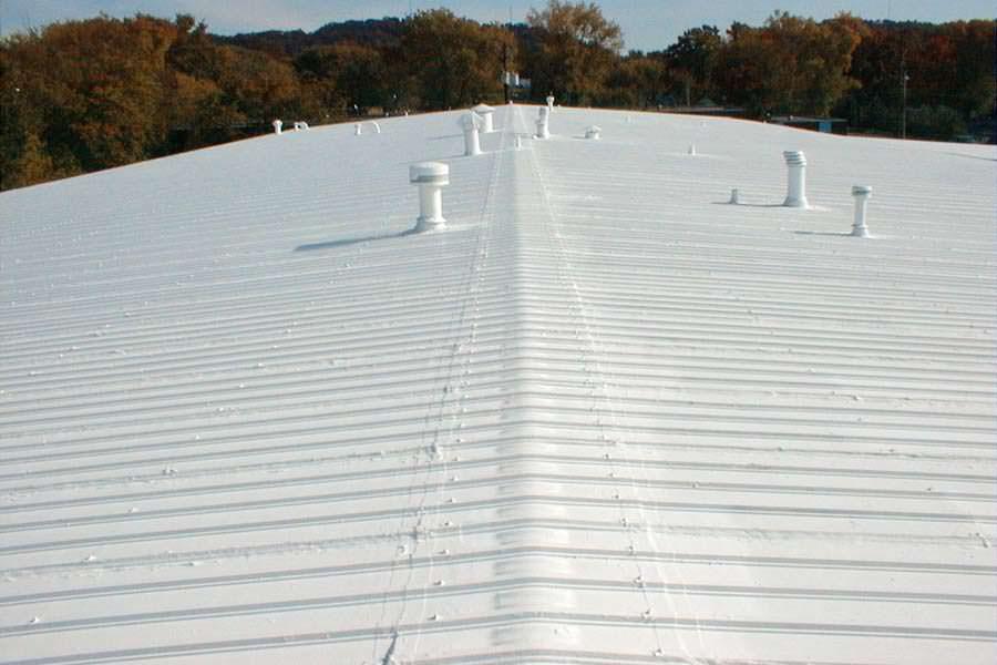 Metal Roof Painting Painters Manufacturing Industrial Building Steel