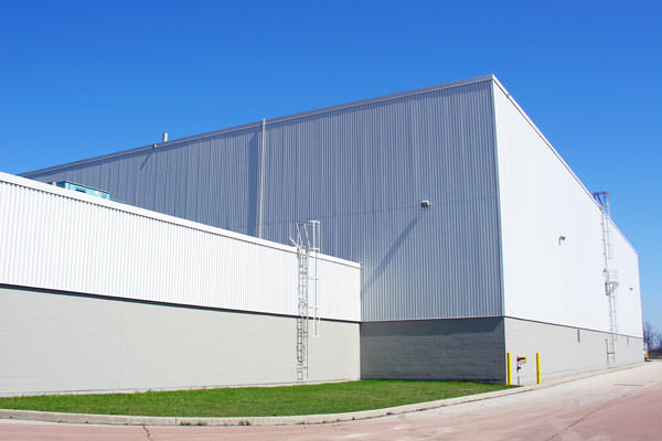 commercial building siding painting