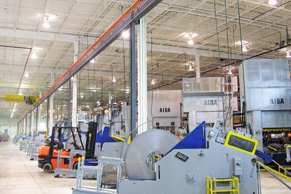 manufacturing equipment and machinery painting