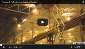 industrial painting video