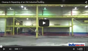 Industrial Building Cleanup & Painting