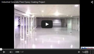 Commercial Epoxy Floor Coating Project