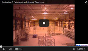 Painting & Restoring a Warehouse